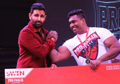 PRO-PANJA LEAGUE BHARAT'S ONLY ARM-WRESTLING LEAGUE, AT RADIO CLUB MUMBAI ON FEB 14