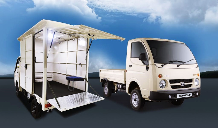 TATA ACE GOLD EMERGED AS THE TOP BIDDER FOR ITS LOW COST OF OPERATIONS, DURABILITY AND VERSATILITY