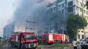 2 DEAD, OVER 100 RESCUED AFTER MASSIVE BLAZE AT PACKAGING UNIT IN SURAT