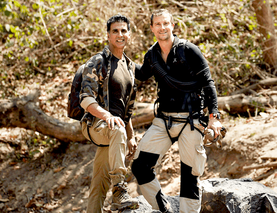 AKSHAY KUMAR GETS BRUISED WHILE SHOOTING FOR DISCOVERY'S 'INTO THE WILD WITH BEAR GRYLLS