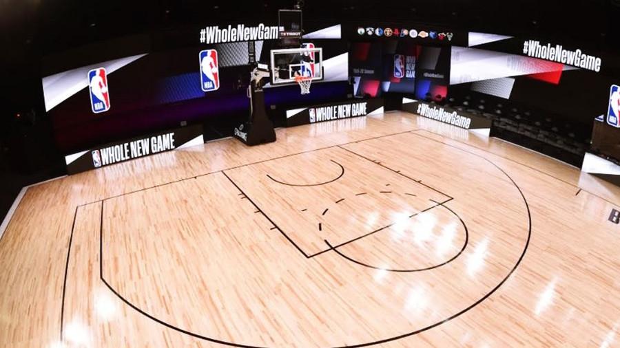 THE NBA UNVEILS NEW SPOT FOR SEASON RESTART #WHOLENEWGAME