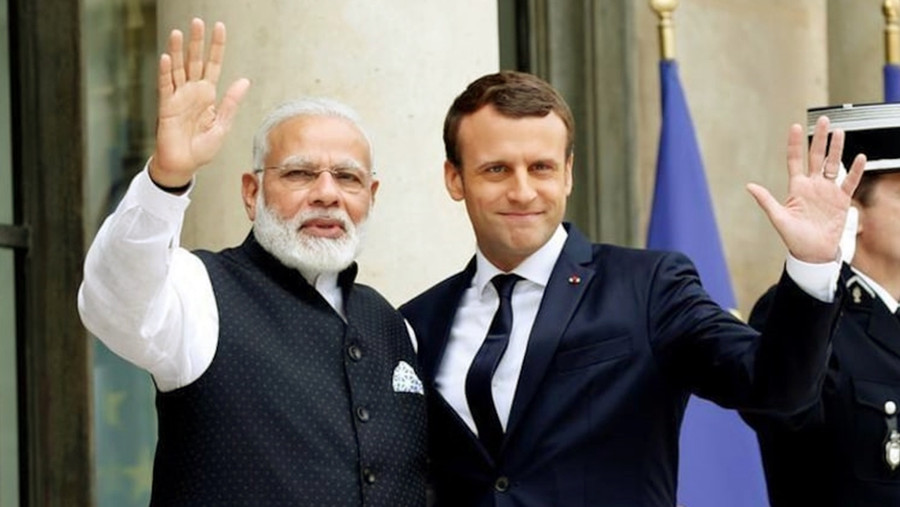 BHARAT STANDS WITH FRANCE IN THE FIGHT AGAINST TERRORISM