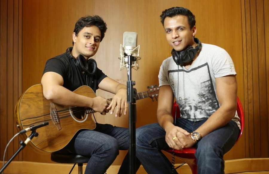 ABHIJEET SAWANT AND ATIF AFZAL CREATE  ACOUSTIC VERSION OF SONG 'YE NA' FROM FILM 'BAJI'