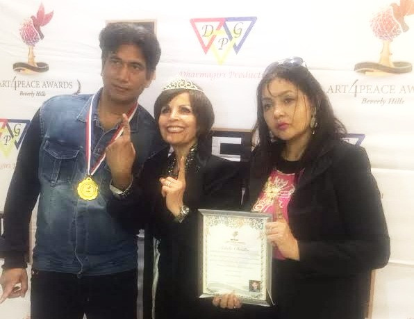 Art For Peace Hollywood Awards honoured Indian Personalities