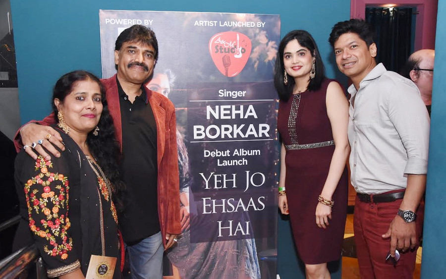 BOLLYWOOD STALWART SHAAN SUPPORTS, AS A & M STUDIO LAUNCHES USA BASED SINGER NEHA BORKAR'S D