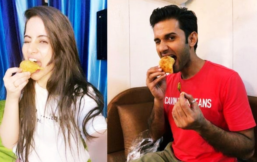 'SETWALA SAMOSAS' A HOT FAVOURITE WITH THE AYE MERE HUMSAFAR CAST