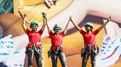 SKECHERS BHARAT'S FIRST EVER FLEX BANNER INSTALLED BY THREE PROFESSIONAL FEMALE MOUNTAINEERS