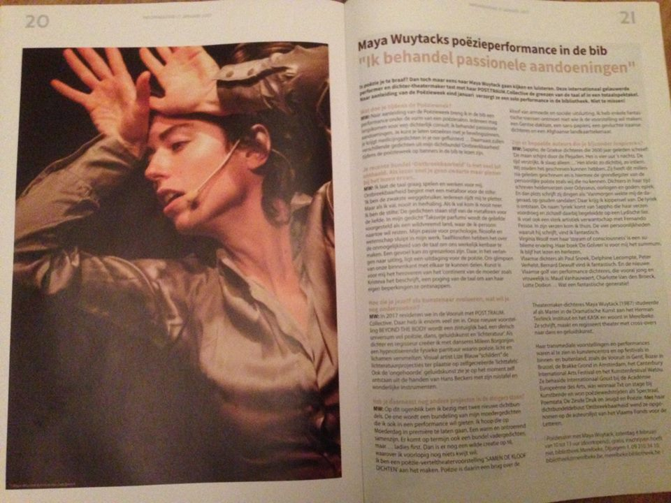 Interview met Maya Wuytack