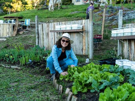 Grupo ZOLA e sua horta ecológica
