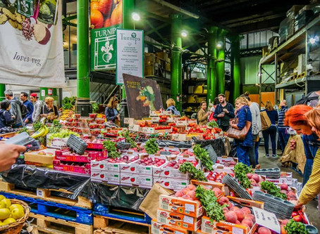 Borough Market em Londres