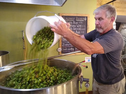 john putting in hops