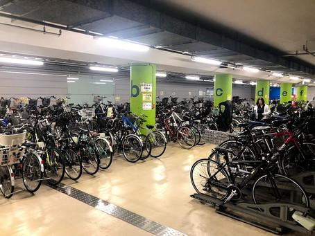 仲御徒町駅には地下駐輪場があるので、通勤通学にも便利ですよ!