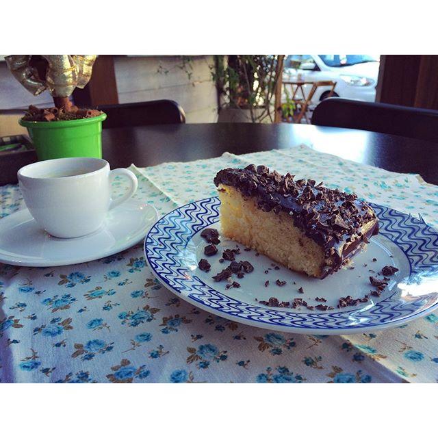 Bolo Ideal com Café Orgânico