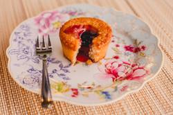 Mini cake de mirtilo