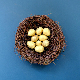 Happy Easter from a Cuckoo-free Chesterton House