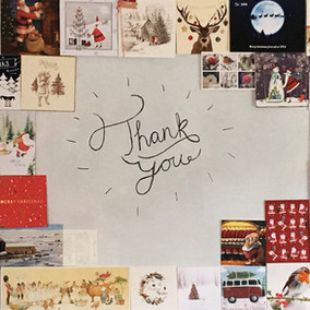 Thank you for the Christmas Cards!