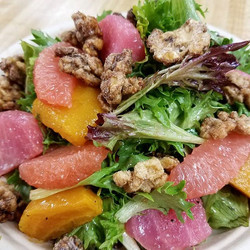 LOVE our Winter #salad! I just got it without the #goatcheese today