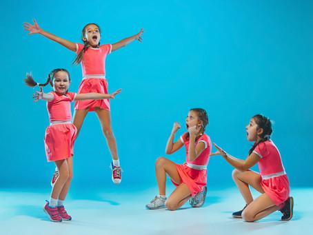 El baile es salud y diversión para los más pequeños