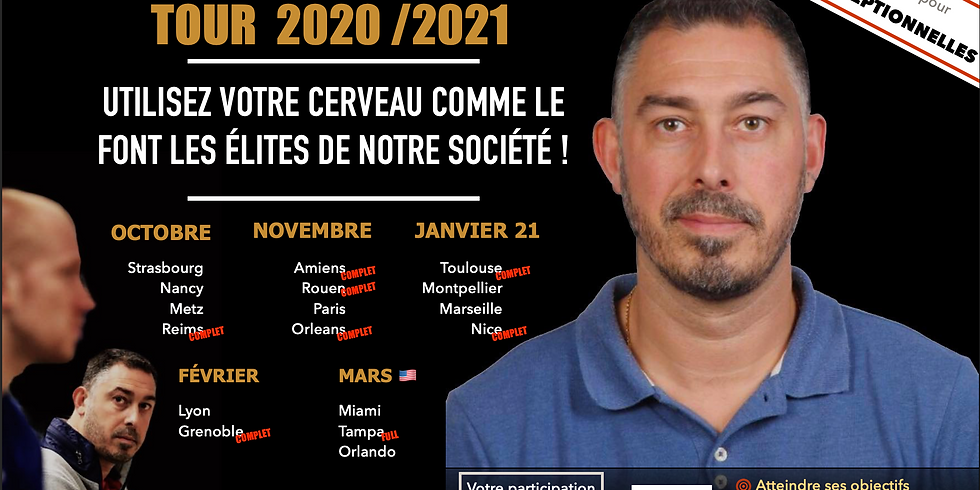 Séminaire Geoffrey Mahieu Tour 2020/2021 Marseille 🇫🇷