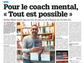 """Pour le coach mental, """"Tout est possible"""""""