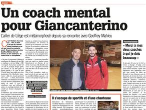 Un coach mental pour Giancanterino