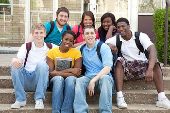 multicultural-college-students-outside-c