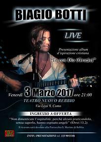 Biagio Botti Live - Rebbio CO, 3 Marzo 2017