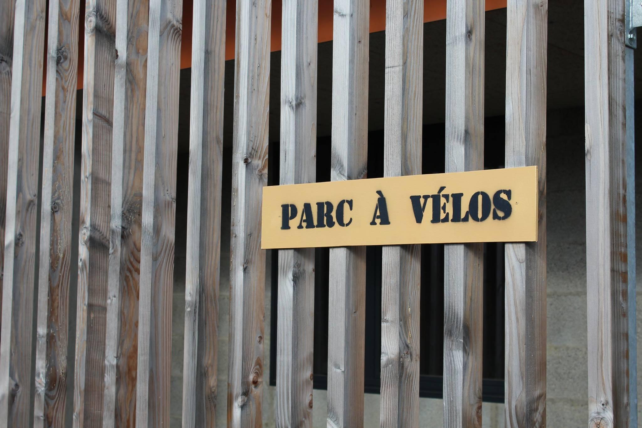panneau Parc à vélo