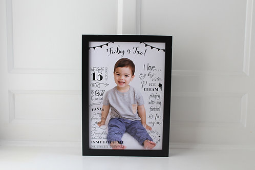 Personalised Name Print - A4
