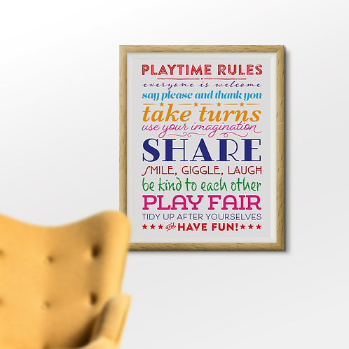 Playtime Rules