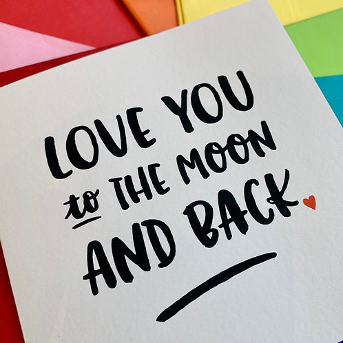 Love Cards (hand written message option available)