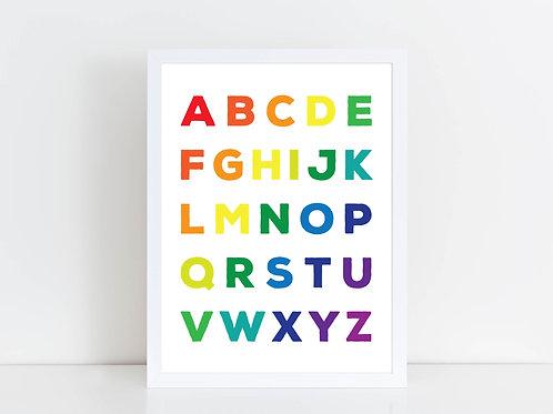 Rainbow Alphabet