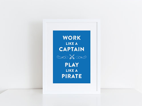 Work like a Captain