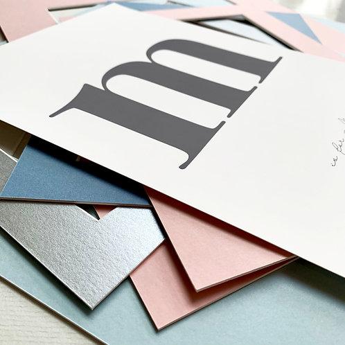 Initials Print
