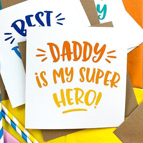 Personalised Type Greetings Card