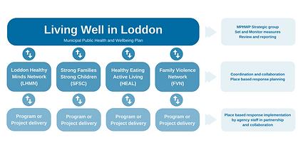 Living Well in Loddon Governance structu
