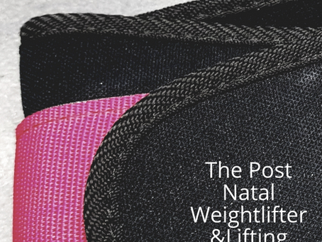 Post Natal & Weightlifting Belts