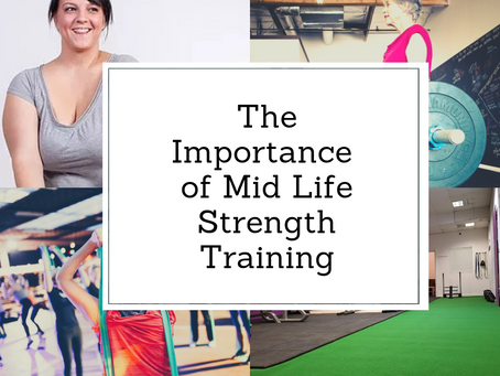 The Important of Midlife Strength Training.