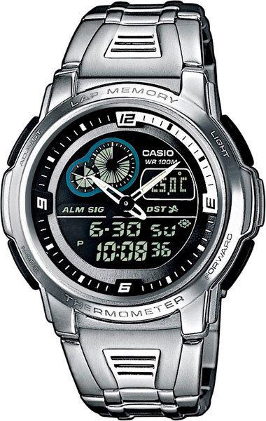 Часы Наручные CASIO AQF-102WD-1B