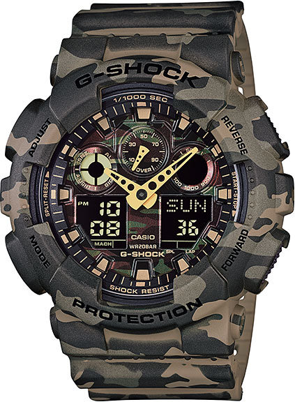 Часы Наручные CASIO GA-100CM-5A