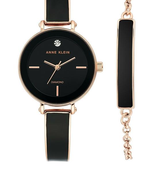 Часы Наручные ANNE KLEIN AK 3620 BKST