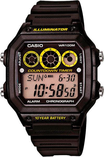 Часы Наручные CASIO AE-1300WH-1A