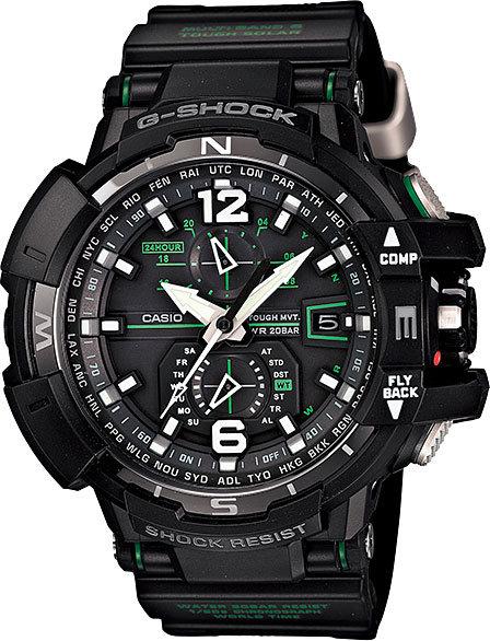 Часы Наручные CASIO GW-A1100-1A3