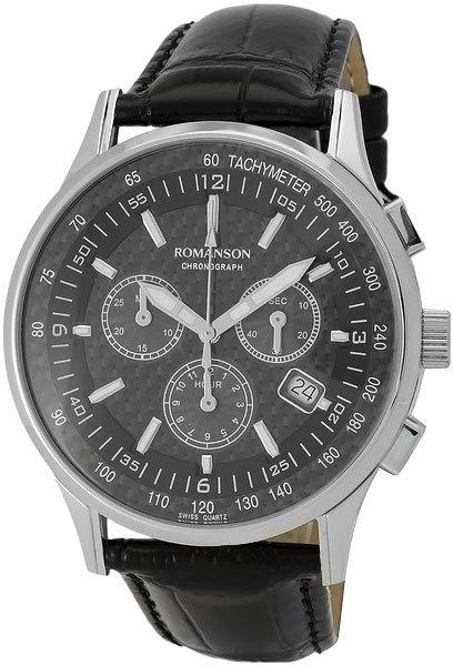 Часы Наручные ROMANSON TL 4131H MW(BK)