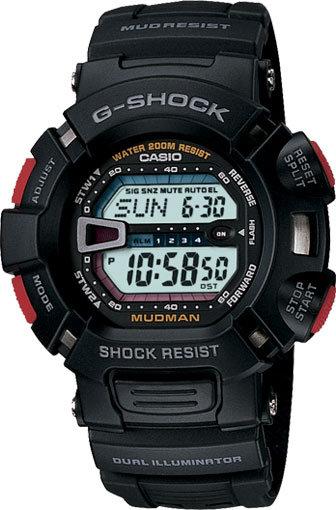 Часы Наручные CASIO G-9000-1V