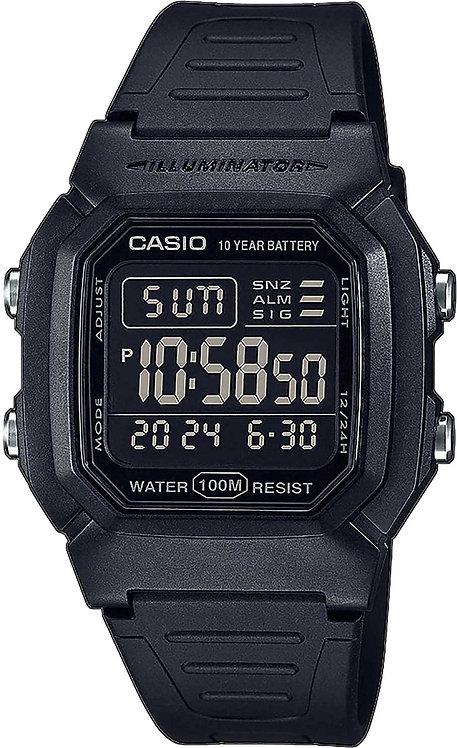 Часы Наручные CASIO W-800H-1B