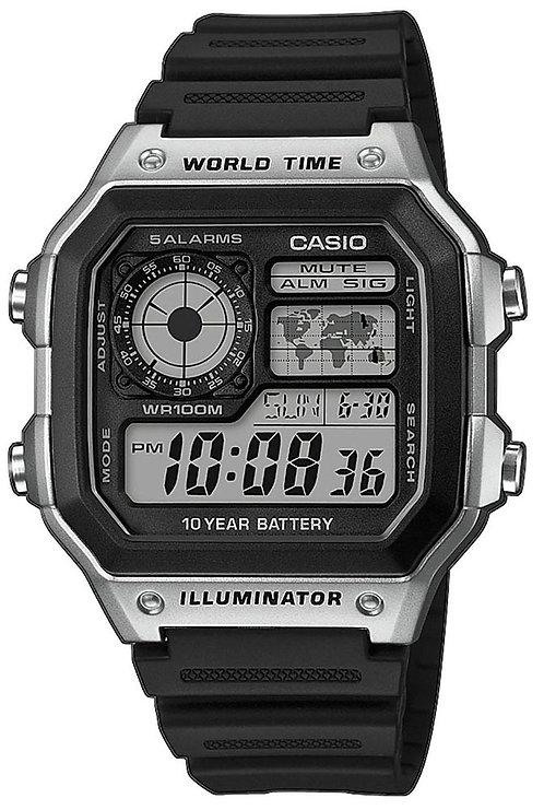 Часы Наручные CASIO AE-1200WH-1C
