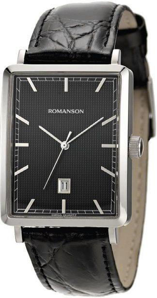 Часы Наручные ROMANSON DL 5163S MW(BK)
