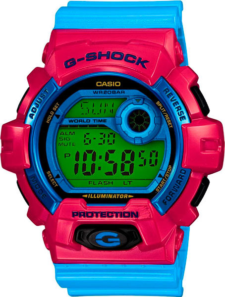 Часы Наручные CASIO G-8900SC-4E