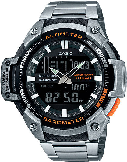Часы Наручные CASIO SGW-450HD-1B